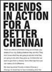 Friends in action for a better Chennai